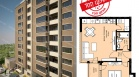 продава, Двустаен апартамент, 61 m2 София, Подуене, 57950 EUR